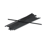 "Plastic Stir Sticks 8""  (Black)  5000 per case"