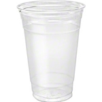 16 oz DART CLEAR PLASTIC COLD Cup   1000/case