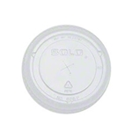 16,24 oz DART CLEAR PLASTIC COLD Cup (FLAT LID) 1000/case
