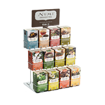 NUMI  Tea Display Rack - holds (12) cartons