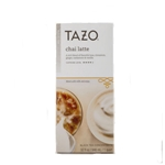 TAZO Chai Tea Concentrate 32oz Cartons 6/case