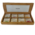 TAZO Bamboo Carved Display Box