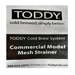 Commercial Toddy Maker Strainer