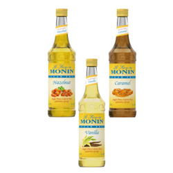 Monin Sugar Free Flavored Syrups