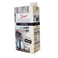 Torani Signature Real Cream Coffee Frappe Base